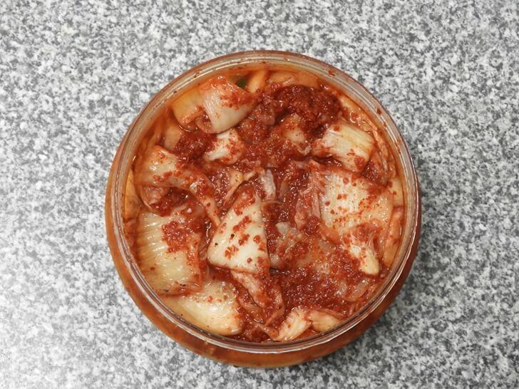 韓式泡菜英文是 kimchi