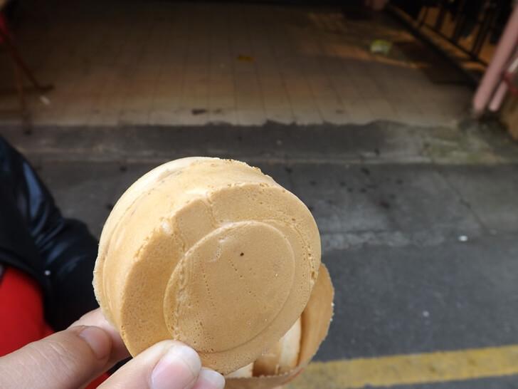 一顆圓圓的車輪餅